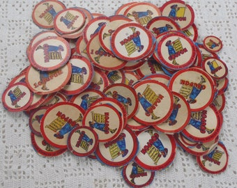 Vintage Coupons Roman Prince Macaroni 1940s 100 Pieces
