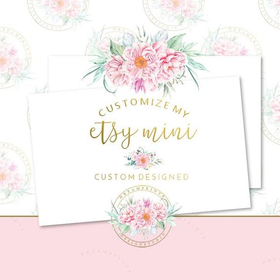 Customize My DIY Etsy Mini Set | Business Set | Etsy Shop Set | Etsy Business | Etsy Package | Etsy Mini | Etsy DIY