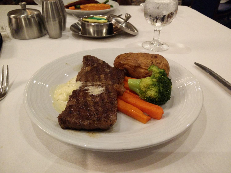 Royal Caribbean Indy Steak Entree