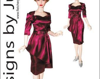 PDF Cat's Meow Dress Pattern for 1/3 Iplehouse EID BJD Dolls