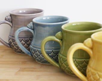 MADE TO ORDER: Custom Mermaid Mug