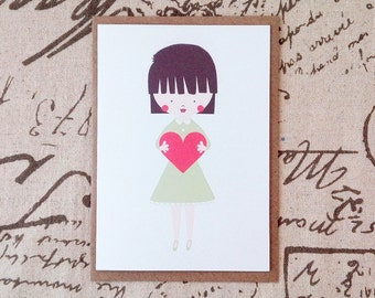 Love You - Greeting Card