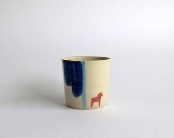 Wine Cup / Horse
