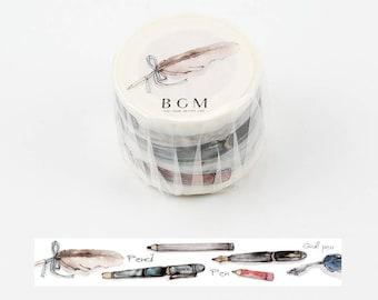 Writing stationery washi tape 30 mm x 7M