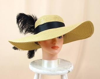 Black and Gold Hat * Kentucky Derby Hat * Wide Brim Hat * Church Hat * Summer Hat * Formal Hat * Ascot Hat * Tea Party Hat