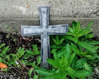 Iron Cross // Blacksmith Made // Hammered Finish // Catholic Cross // Cross // Crosses // Christian Gifts // Crucifix