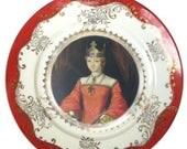 """ON SALE Burger Queen Portrait Plate 7.5"""""""