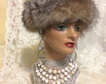 Nice Plush Fur Headband