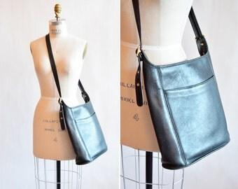 Vintage black COACH shoulder bag