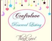 Reserved listing for ldstrong1 - Lovey size blanket Natural Beige