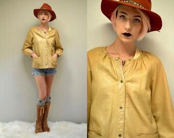 BONNIE CASHIN  // Womens Leather Jacket  //  Leather Jacket