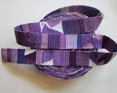 hand woven cotton belting by the yard - hand woven in Guatemala - cotton webbing, hand woven sash, hand woven belt trim