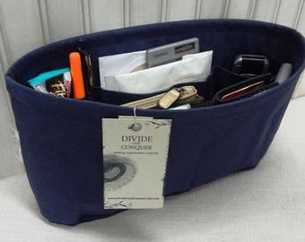 NAVY / Purse ORGANIZER insert Shaper / STURDY / 5 SizesAvailable / Bag Organizer / Check out my shop for more colors & styles