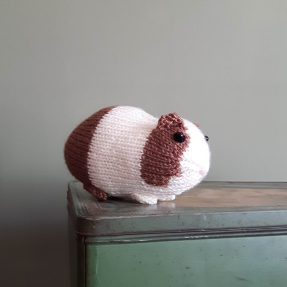 Knitting Pattern For A Guinea Pig : Knitted guinea pig toy Dutch cavy