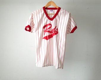 vintage CINCINATTI REDS pinstripe MLB vintage baseball jersey number 3 pete rose