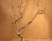 Manzanita Jewelry / Wish / Decor / Centerpiece Tree - Metallic Silver - Ready to Ship