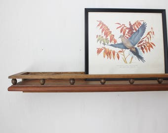 Simple Wooden Wall Shelf