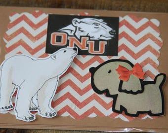 Ohio Northern University Greeting Card-2