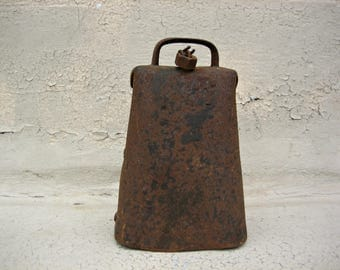 Big Antique Cow Bell