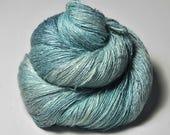 Flying wind spirit OOAK - Tussah Silk Lace Yarn