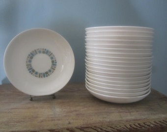 Mid Century Canonsburg Temporama Coupe Soup Bowl