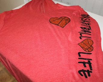 Basketball Life Hoodie, Basketball Hoodie, Basketball Mom Shirt, Basketball, Basketball Shirt, Basketball Sweatshirt, Basketball Mom Gift