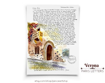Verona, Italy: Travel Letters, December, A letter about the most famous balcony in the world, Romeo and Juliet