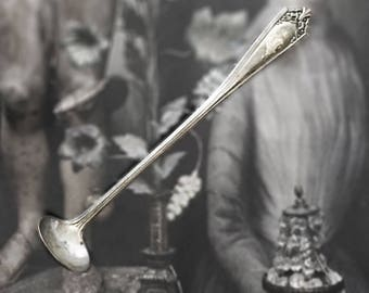 Sterling Silver Spoon C Monogram Tiny Antique Ladle