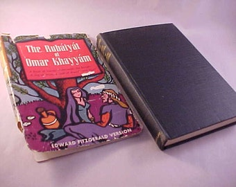 The Rubaiyat of Omar Khayyam Hardcover Book Edward Fitzgerald Version