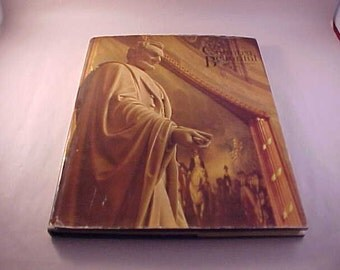 1965 Book - Lincoln His Words and His World - Hardcover with Dust Cover