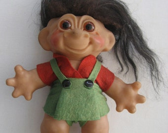 vintage Danish Thomas Dam troll doll
