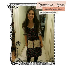 Reversible Apron Pattern for Adults