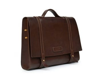 Business Messenger // Leather Messenger Bag