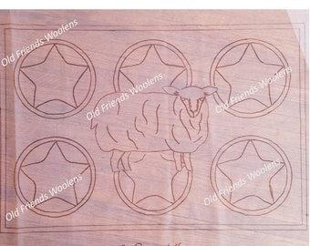 NEW PATTERN*** Prize Suffolk Hooked Rug Pattern