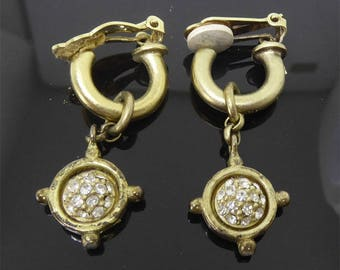 Vintage Designer Signed Linda Levinson Earrings
