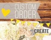 Custom listing for Jessica - RUSH - OVERNIGHT - 1/18d