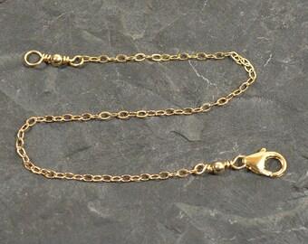 """Gold Filled - 3"""" Necklace Extender"""