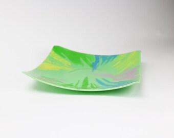 Spring Pastel Splatter Plate