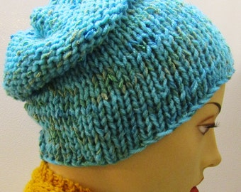 Bahamas Sea Blue Hat with EarWarmer Band