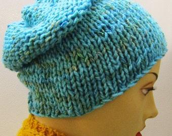 Bahamas Sea Blue Hat with EarWarmer Band