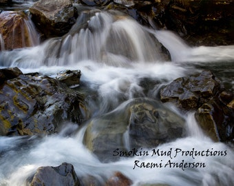Landscape Photograph, Waterfall Fine Art Print, Water Photography, Flowing Water , Nature