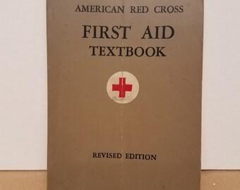 Vintage American Red Cross Book