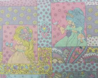 """Alexander Henry """"storybrook patch"""" fabric 2009 FQ or more"""