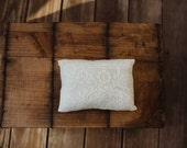 Vintage lace pillow
