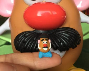 Miniature Dollhouse Mr Potato Head Man in 1:12 scale one inch toy figurine