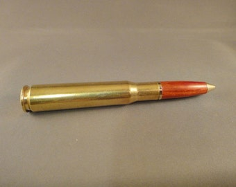 50 Caliber Bullet Pen - Bloodwood Bullet