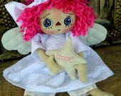Primitive Raggedy Doll - Angel of Hope