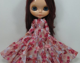Handmade Outfit dress for Blythe doll costume dress  790-60