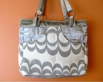 Bea #23  Medium Zippered Purse, Upholstery Fabric Purse, Purse, Purses, Bag, Bags, Zippered Bag, Handbag, Handbags, Women, Gift, Shoulderbag
