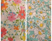 Two Flat Sheets - 100% Cotton